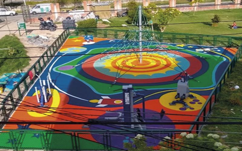 Parque Localidad Rafael Uribe - Bogotá